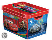 Curver Decobox Stockholm Opbergbox - 25 l - Kunststof - Diseny Cars