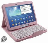 Bluetooth keyboard case Samsung Galaxy Tab 3 10.1 roze TW Telecom