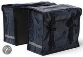 New Looxs Bisonyl - Dubbele Fietstas - 46 Liter - Zwart