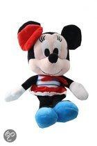 Disney Minnie mouse plush 20cm gestreept jurkje