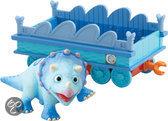 Dinosaurus Trein - Tank met Trein Wagon