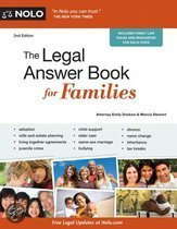 Legal Answer Book for Families, The