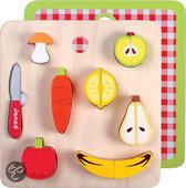 Janod Chunky Groente & Fruit Magnetisch