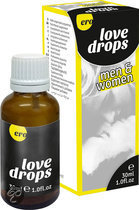Hot-Love Drops M/F 30Ml-Creams&lotions&sprays