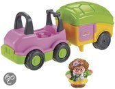 Auto en camper Little people (V9227/V9226)