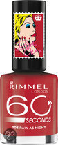 Rimmel 60 seconds RO collectie - 303 Raw as Night - Nailpolish
