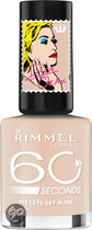 Rimmel 60 seconds RO collectie - 513 Let's Get Nude - Nailpolish