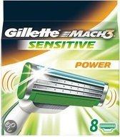 Gillette Mach 3 Sensitive - 8 stuks - Scheermesjes