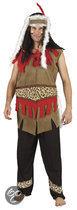Superluxe Indiaan Navajo - Kostuum - Maat M/L - Bruin
