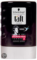 Taft Styling Power Unlimited Hold Flacon - 300 ml - Gel