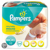 Pampers New Baby - Maat 0 Carrypack 24 st.