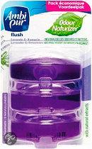 Ambi Pur Flush Lavendel Flower Navulverpakking - Geurverspreider