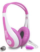 Kidzplay Stereo Gaming Headset Roze Official Licensed PlayStation 3