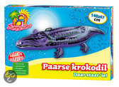 Summertime Ride-On Krokodil Paars