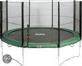 Salta Combo Trampoline - 366 cm - Inclusief Veiligheidsnet - Groen