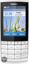 Nokia X3-02 Touch and Type - White silver