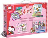 Clementoni Hello Kitty 4-in-1 Spel