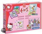 Clementoni Hello Kitty 4-in-1 Spel