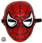 Plastic Spider-Man masker met elastiek