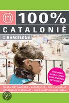 100% Catalonie & Barcelona met cd-rom