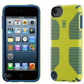 Speck CandyShell Grip - Beschermhoes voor de Apple iPod Touch 5 - Lemongrass Yellow / Harbor Blue