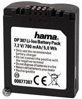 Hama accu voor digitale camera (Panasonic CGR-S006E)