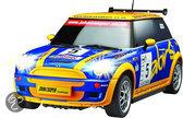 Racetin Mini Cooper S - RC Auto - 1:10 - Blauw