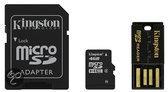 Kingston SD kaart 4 GB