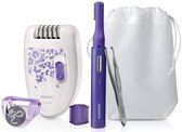 Philips Beauty Giftset HP6543/00 Epilator + Precisietrimmer