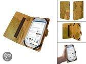Luxe Book Cover voor uw 7 Inch Tablet met retro wereldkaart, merk i12Cover