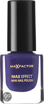 Max Factor Max Effect - 38 Purple Haze - Paars - Mini Nagellak
