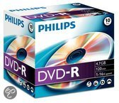 Philips DM4S6J10C 4,7 GB/120 min. 16x DVD-R