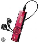 Sony NWZ-B172F - Walkman MP3 speler - 2 GB - Rood
