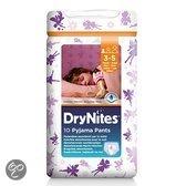 DryNites Girl - Absorberende Broekjes 3-5 jr