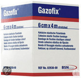 Gazofix 2936 - 4 m x 6 cm - Verband