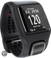 TomTom Runner Cardio - GPS Sporthorloge - zwart