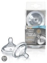 Tommee Tippee - Closer to Nature Flesspeen - 3 mnd+
