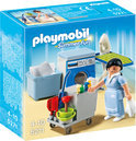 Playmobil Kamermeisje met Trolley - 5271