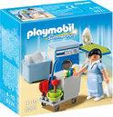 Playmobil Kamermeisje met Trolley - 5271