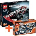 LEGO Technic 42000 Grand Prix Racer + 8293 Power Functions