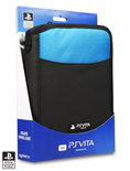 4Gamers Deluxe Draagtas PS Vita Zwart-Blauw