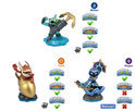Skylanders Swap Force Adventure Triple Pack Star Strike, Gill Grunt, Trigger Happy Wii + PS3 + Xbox360 + 3DS + Wii U + PS4