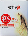 Activo Power Ginseng 30% - 45 capsules