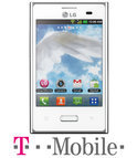 LG Optimus L3 - Wit - T-Mobile prepaid telefoon