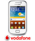 Samsung Galaxy Mini 2 - Wit - Vodafone prepaid telefoon