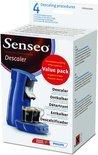 Philips Senseo Ontkalker Voordeelverpakking HD7012/00 - 4 stuks