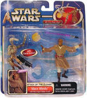Star Wars Speelgoed: Mace Windu with Blast-Apart Battle Droid (red)