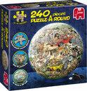 Jan van Haasteren Puzzle-A-Round - Safari - 240 stukjes