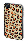 Vcubed Jungle Printed Case, iPhone 4S / 4, Gold Leopard