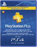 Sony PlayStation Plus Abonnement Belgie 365 Dagen PS4 + PS3 + PS Vita + PSN